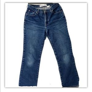 Vintage High Rise Boot Cut Jeans. Size 9/10